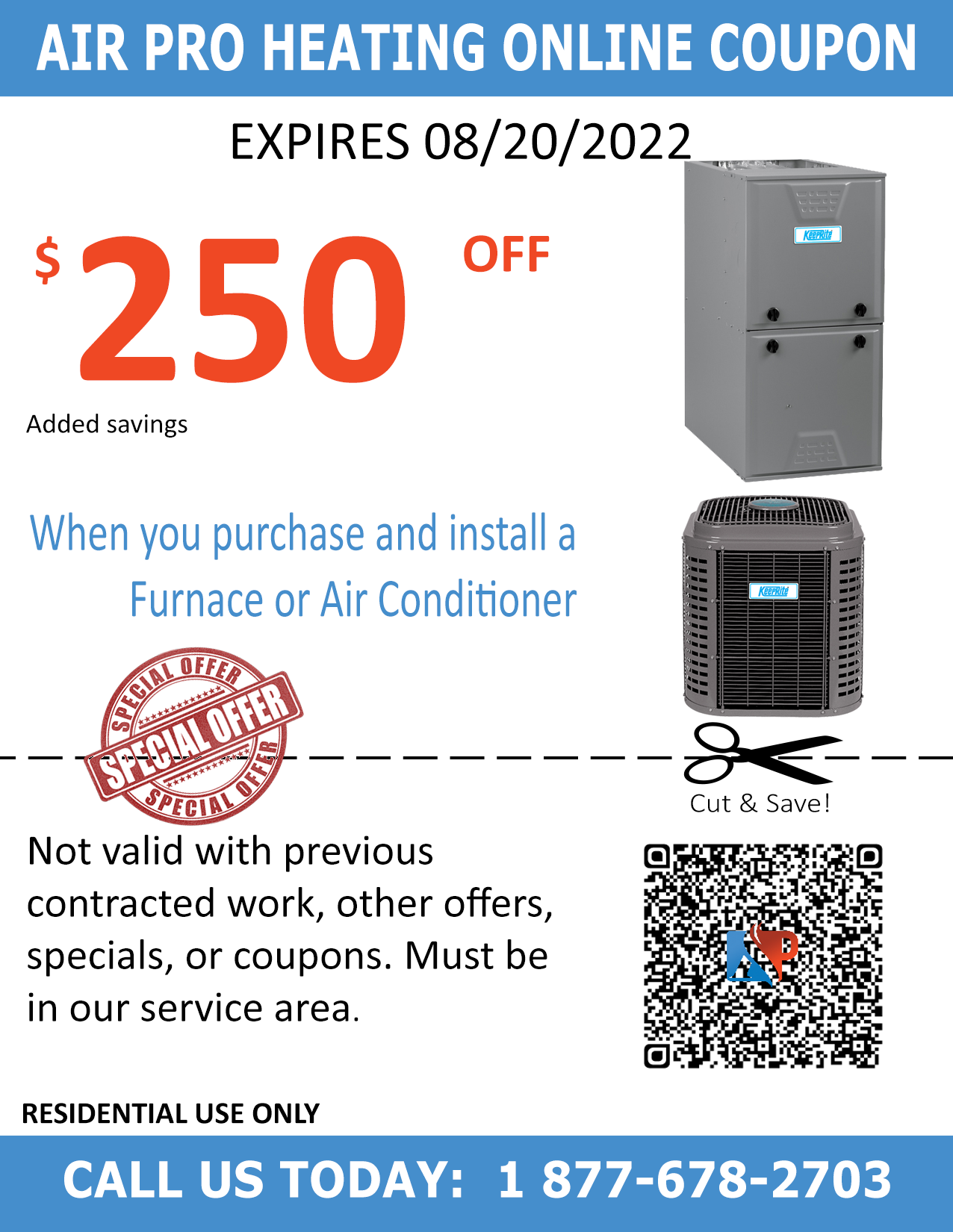 A c pro air conditioning discount coupons